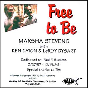 Free To Be - Marsha Stevens