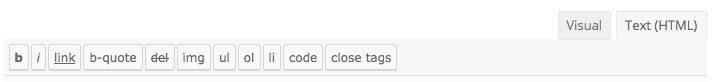 visual text tab