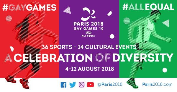 Paris 2018 -Gay Games 10