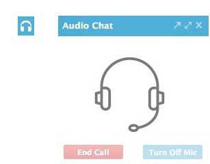 audio chat