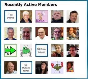 Recently Active Members